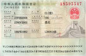 Dịch vụ làm visa Trung Quốc
