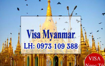 Thủ tục làm visa Myanmar