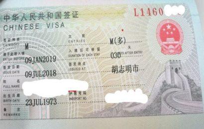 Làm visa Trung Quốc 6 tháng ở Hà Nam