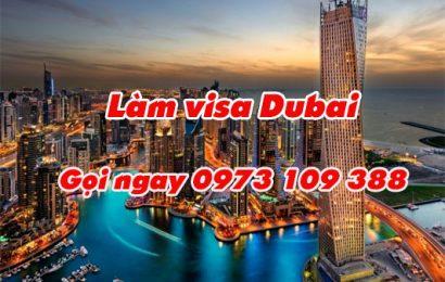 Thủ tục làm visa Dubai